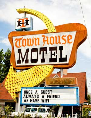 Townhouse Motel by Thomas Hawk on Flickr
