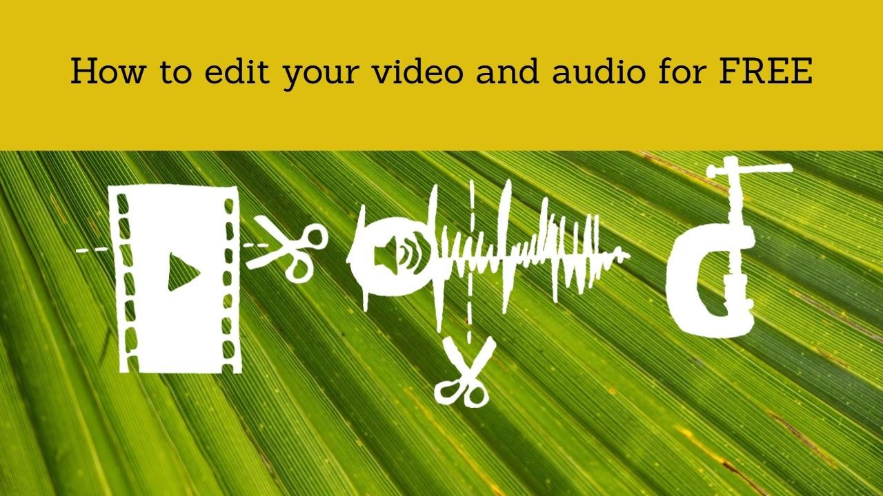 Class Description: Editing Videos For Youtube Or Skillshare Does Not Have To  Be Costly