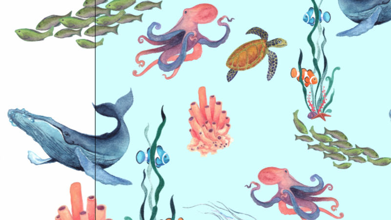 Under The Sea Pattern - SAMPLE PROJECT