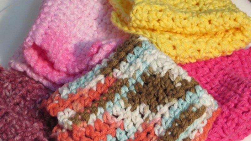 The 4 Core Crochet Stitches For The Left Handed Crocheter A