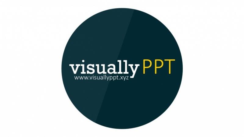VisuallyPPT logo animation