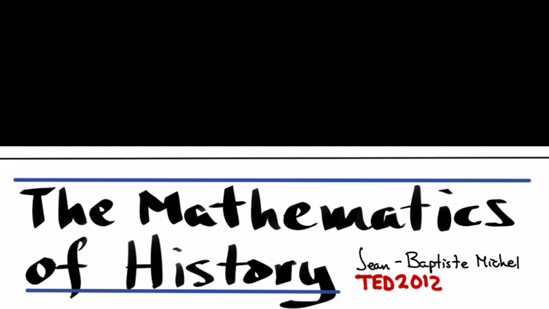 Sketchnote on The Mathematics of History