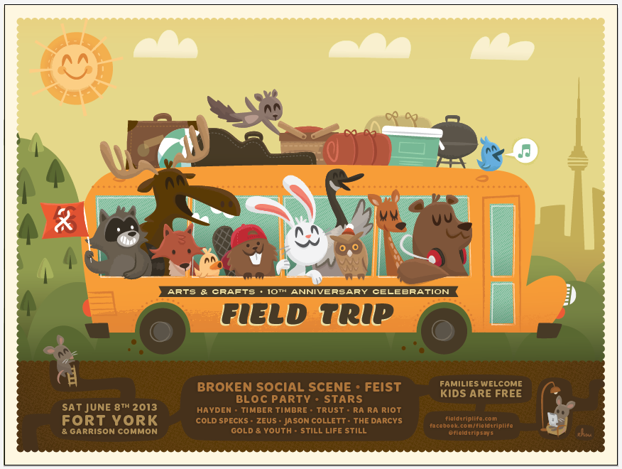 Field trip ft. broken social scene feist & bloc party skillshare