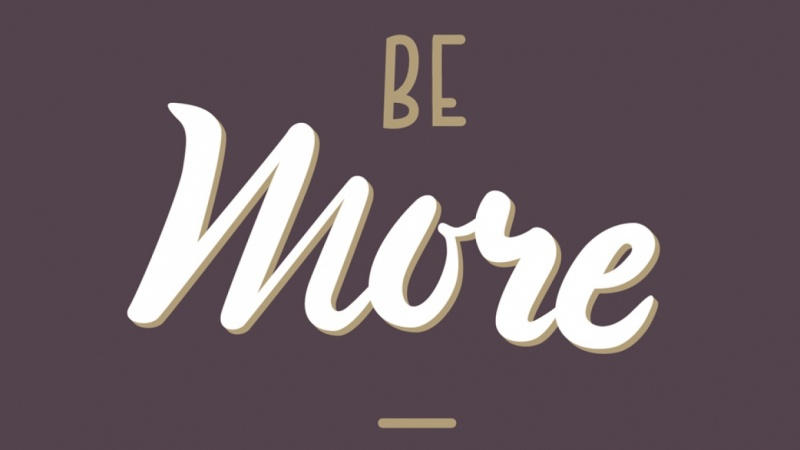 Sample Project: Be Yourself + Be More