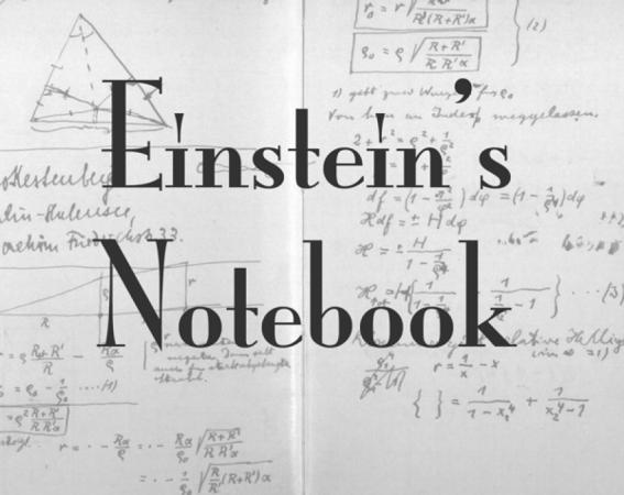 Einstein's Notebook
