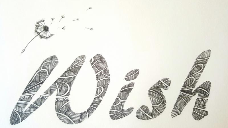 Doodle typography practice