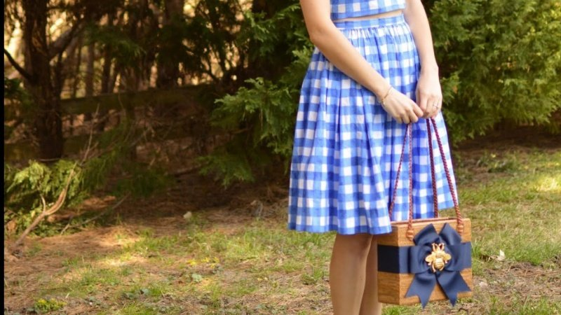Allie's Gingham Skirt