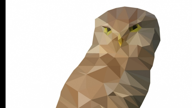 Owl // Low Poly
