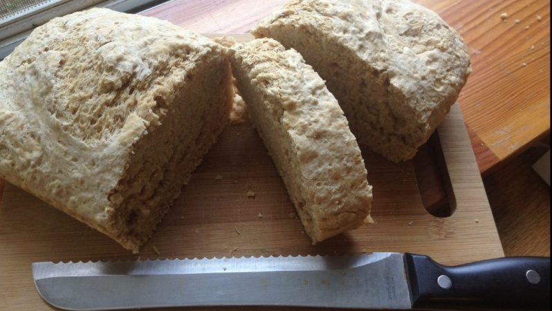 And on the 7th Day Beer Bread Was Born!