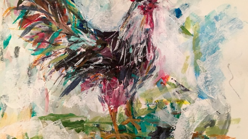 Abstract Rooster!!