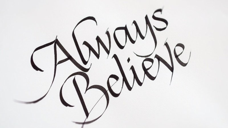 Always Believe – Example project