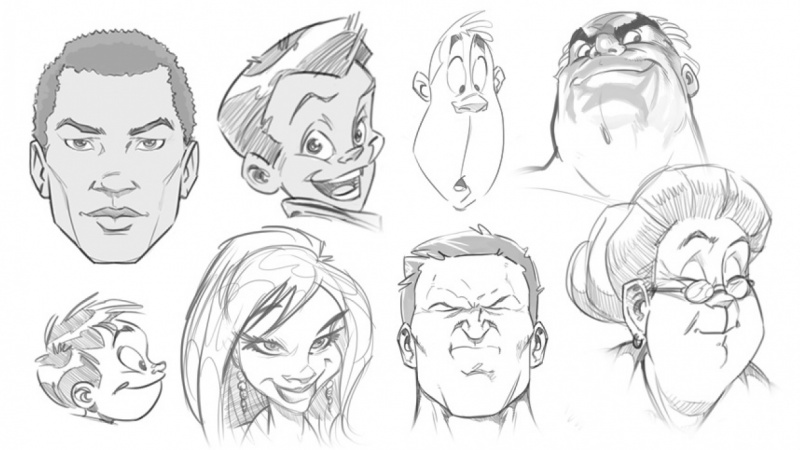 Drawing masterclass mastering the human face for cartoon and comics skillshare projects
