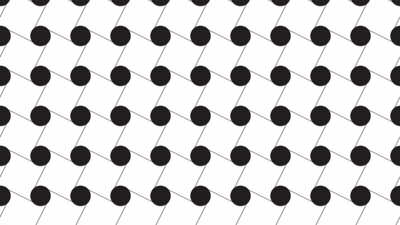 Black and White Repeating Pattern