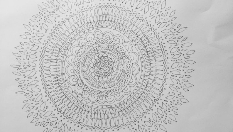 Pia's First Mandala