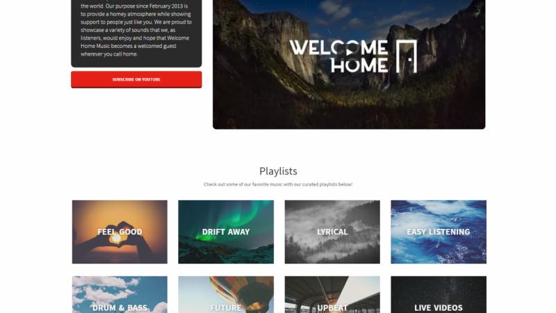 Welcomehomemusic.net