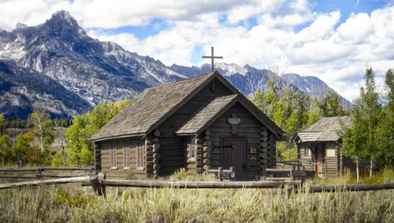 Church in Tetons