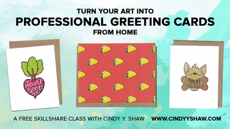Live turn your art into professional greeting cards from home free live turn your art into professional greeting cards from home free skillshare projects m4hsunfo