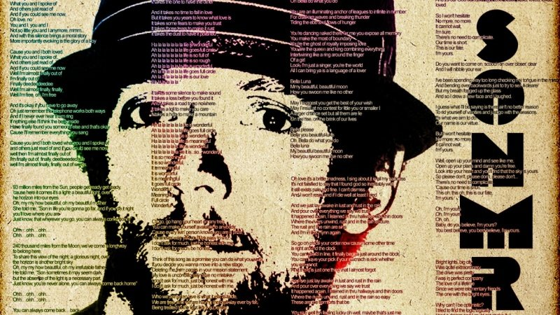 Photoshop: How to Design & Create a Powerful, Text Portrait