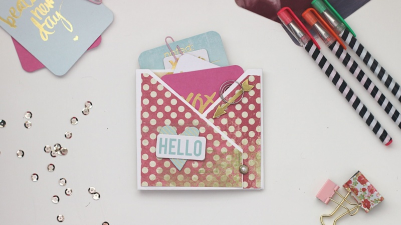 Create Your Own Pocket Sized Mini Scrapbook Album Skillshare Projects