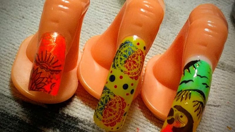 Glamorous Nail Art: Nail Art Stamping | Skillshare Projects