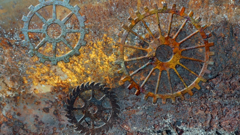 Corroded Gears