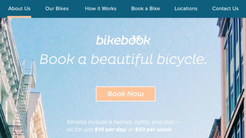 Bikebook Website