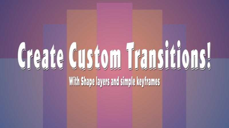 Custom Transitions!