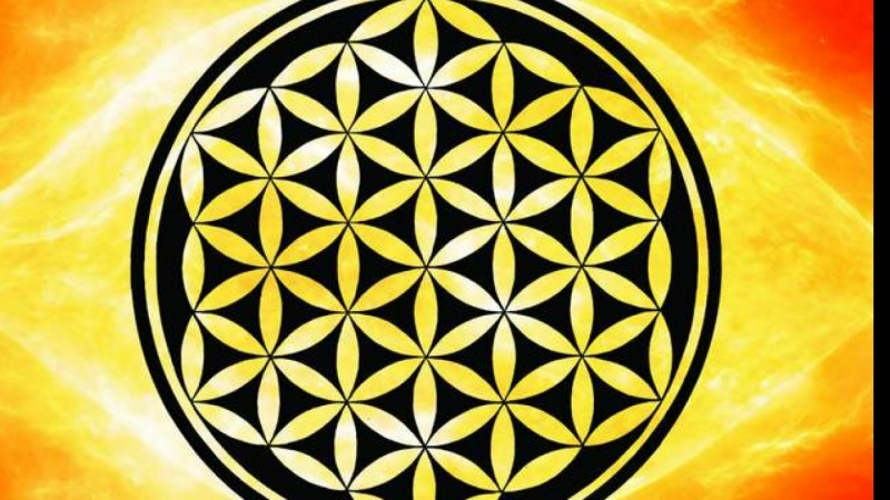 Sacred Geometry Flower Of Life Symbol Skillshare Projects