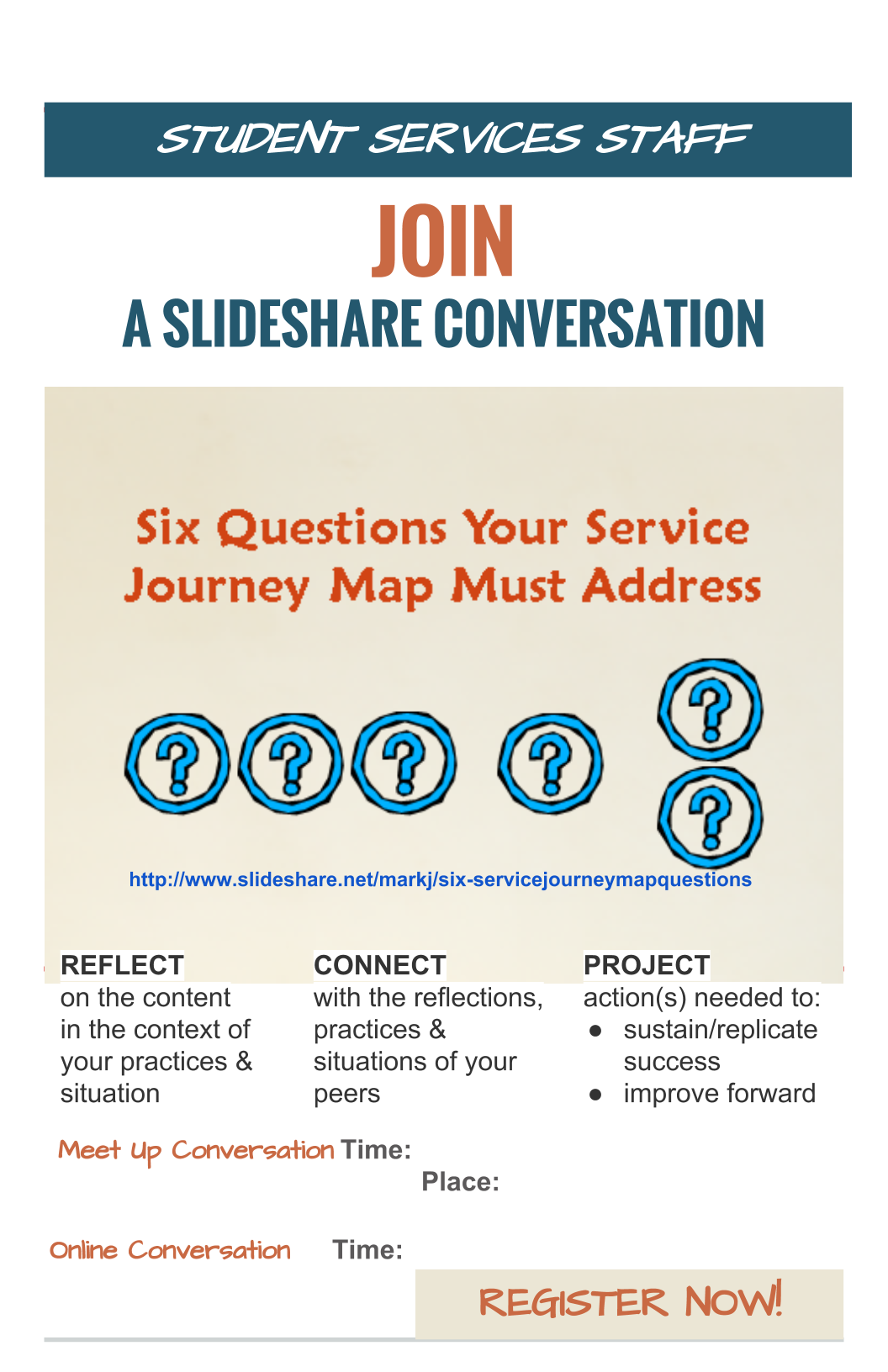 Slideshare based poster as a slideshare conversation invitation ive had the idea of using a slideshare as the focus of an interactive conversation for some time stopboris Choice Image