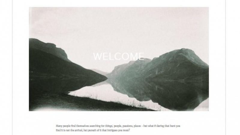 From Land Magazine - Squarespace Website Mockup