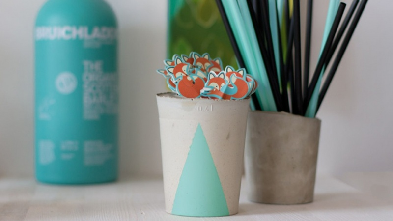 Concrete Cups