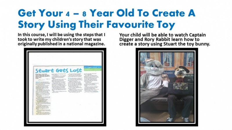 Get Your 4- 8 Year Old Child To Create A Short Story Using Their
