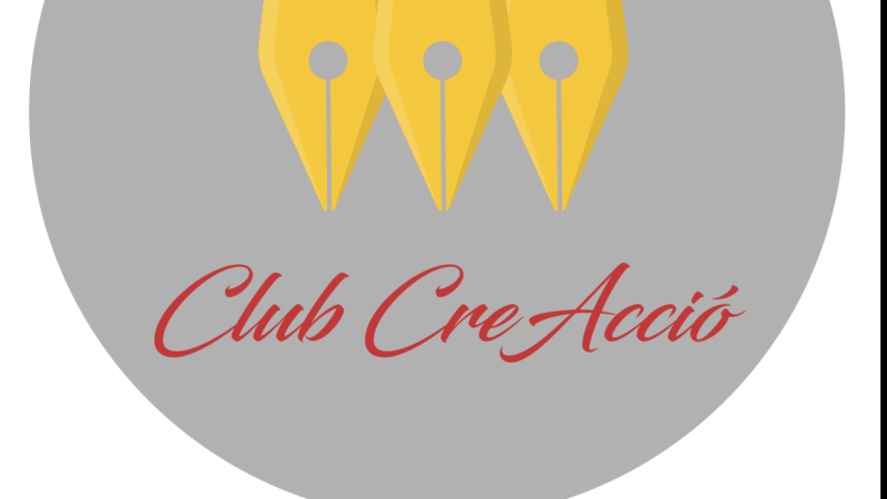 Logo for a writers' club