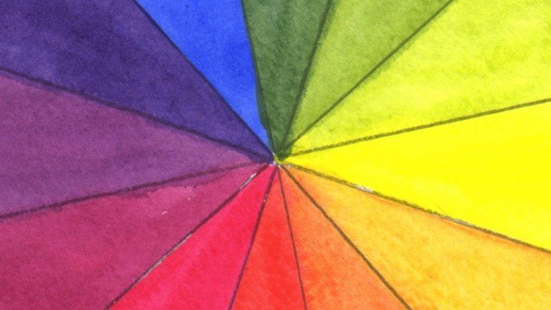 Complete Beginners Paint Your Own Color Wheels Using Two Sets Of