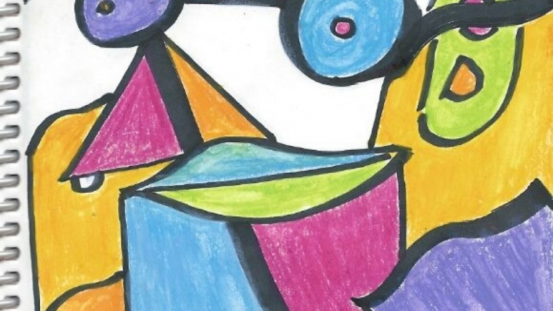 Art For Kids And Beginners Create An Abstract Painting With