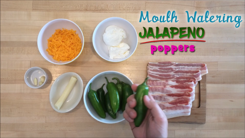 Mouth Watering Jalapeño Poppers