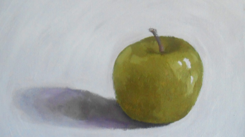Muted Painted Apple