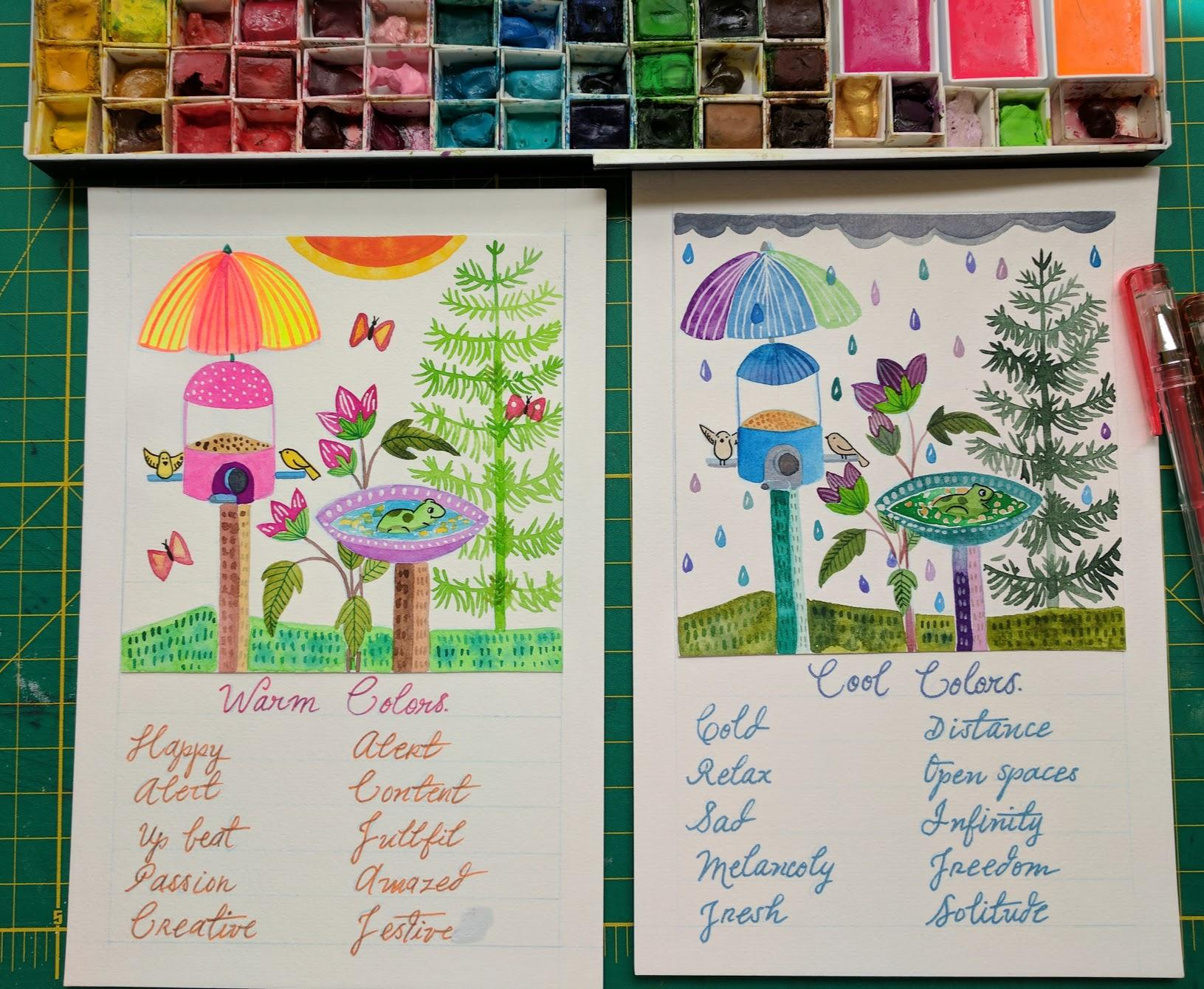 Watercolor mixing. | Skillshare Projects