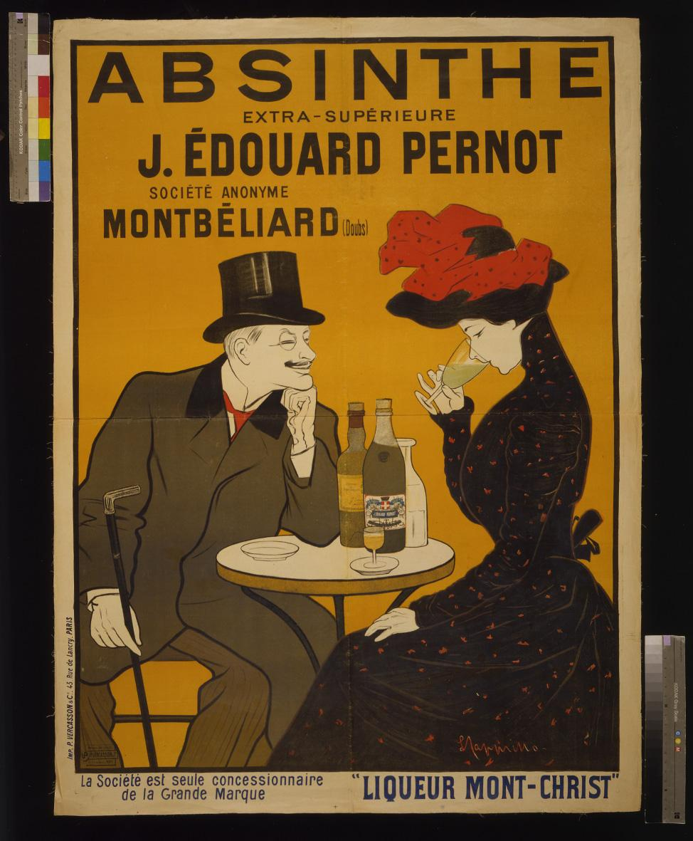Vintage Alcohol Advertising French Printable Poster