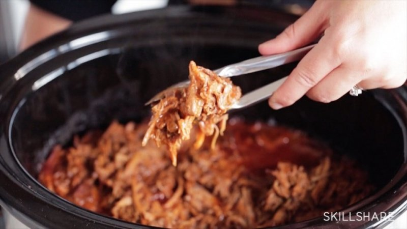 My Barbecued Pulled Pork