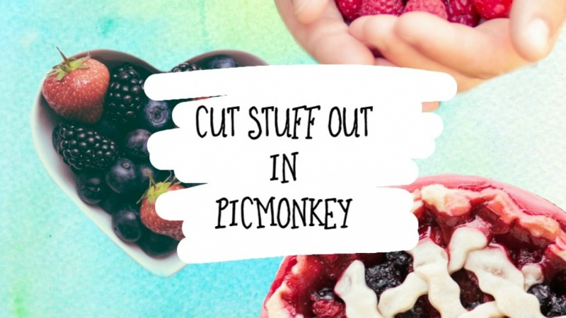 Cut Stuff Out In Picmonkey