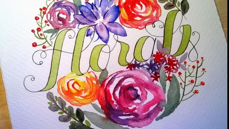 Watercolor&Lettering