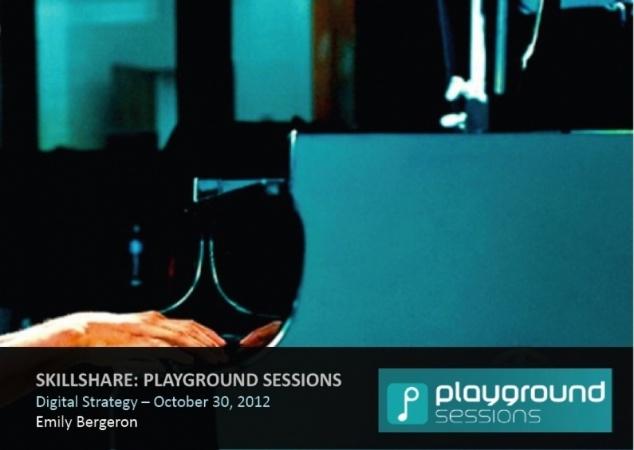 Skillshare Playground Sessions Digital Strategy