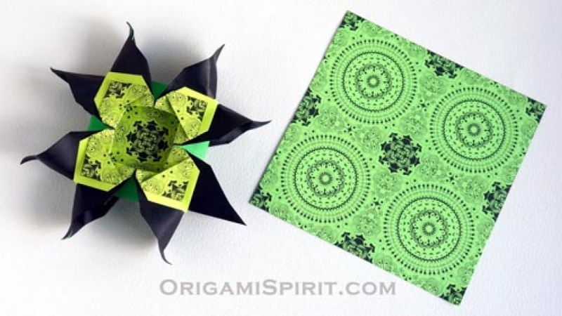 Make An Origami Quilt Star Paper Craft For Children 7 To 99