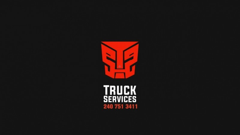 Truck Services_Slice logo animation