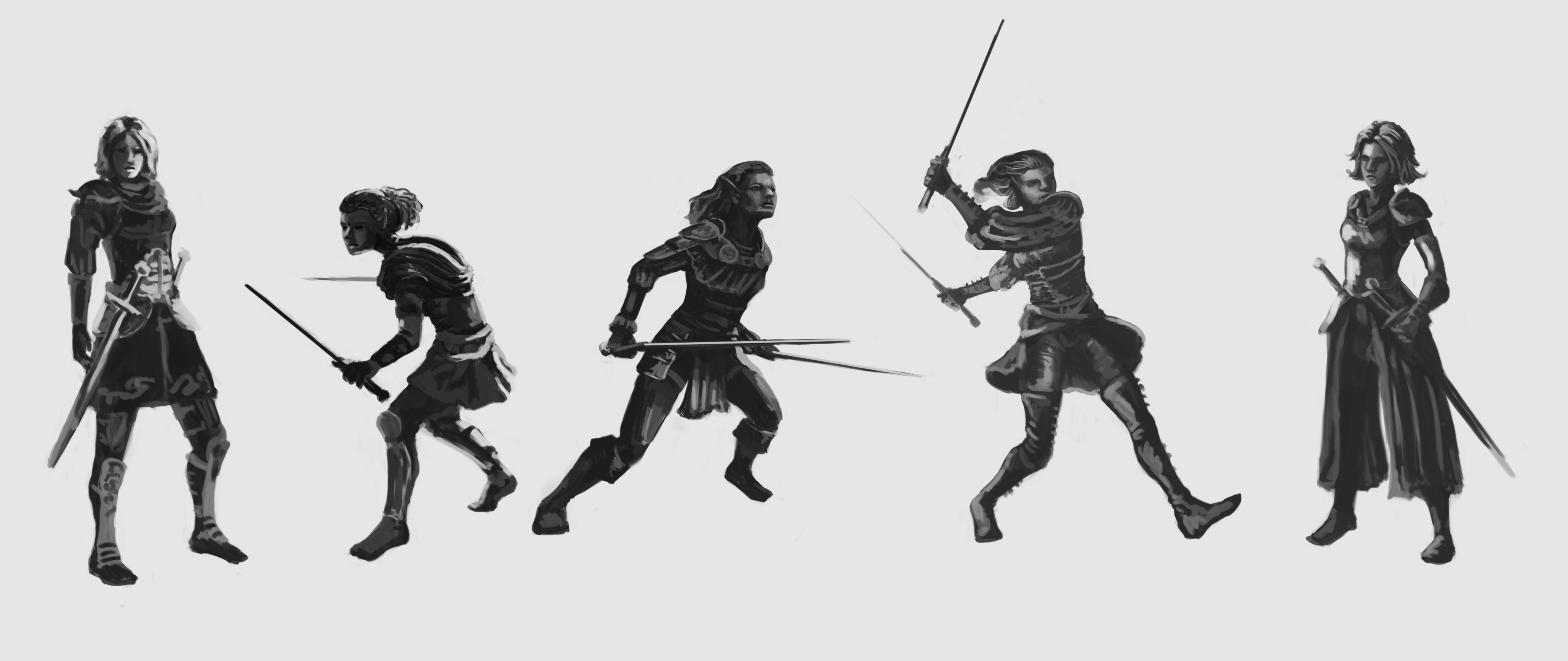 Dual Wielding Warrior Skillshare Projects