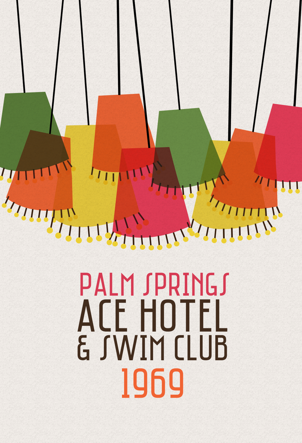 Whenever I Think Retro Immediately Of The Iconic Ace Hotel Specifically Palm Springs Location Love Vintage Hotels And Their Print