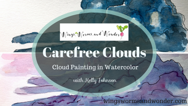 Carefree Clouds: Cloud Painting in Watercolor