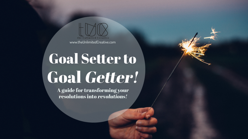 My 3rd Skillshare class: From Goal Setter to Goal Getter: 4 Steps to Setting and Achieving Your Creative Business Goals