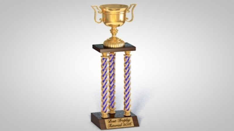 Trophy for the Best Trophy Tutorial 2016